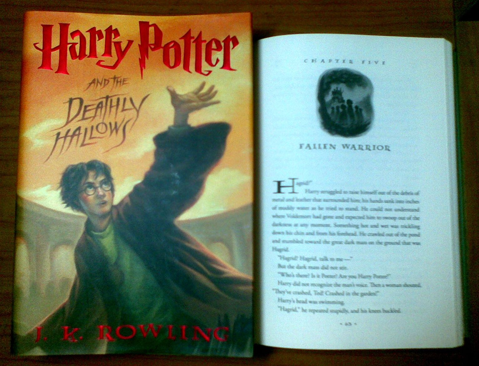harry potter and the deathly hallows book report Grim, gripping end to the biggest saga in history read common sense media's harry potter and the deathly hallows review, age rating, and parents guide.