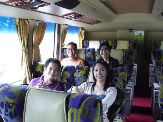 Bus ride from Singapore to Kuala Lumpur