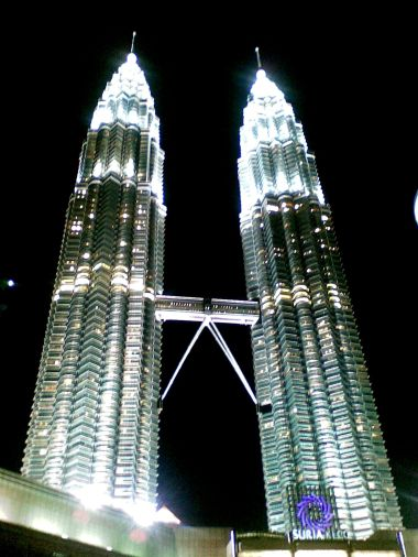 The Petronas Towers never cease to amaze me.