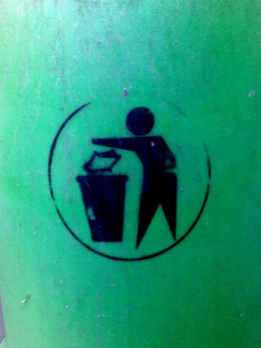 Dispose of your wastes responsibly!