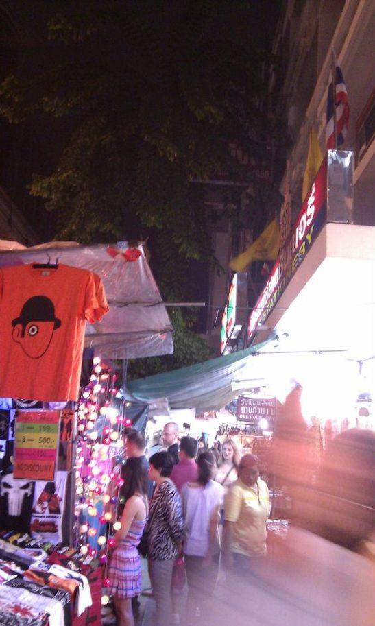 Street shops in Thailand