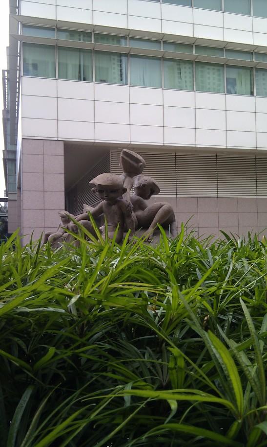 Statue of children