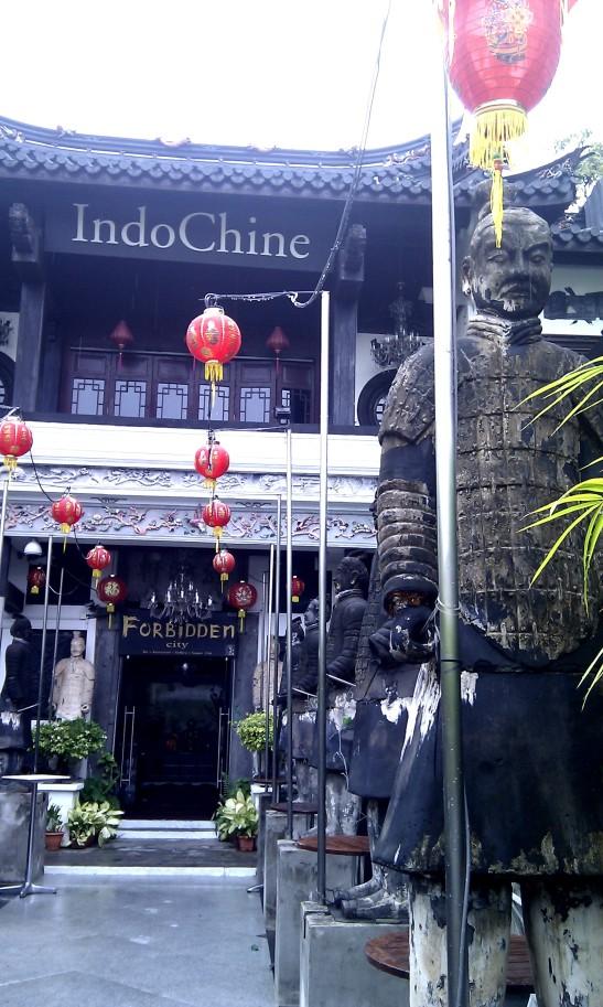 IndoChine resto in the Forbidden City