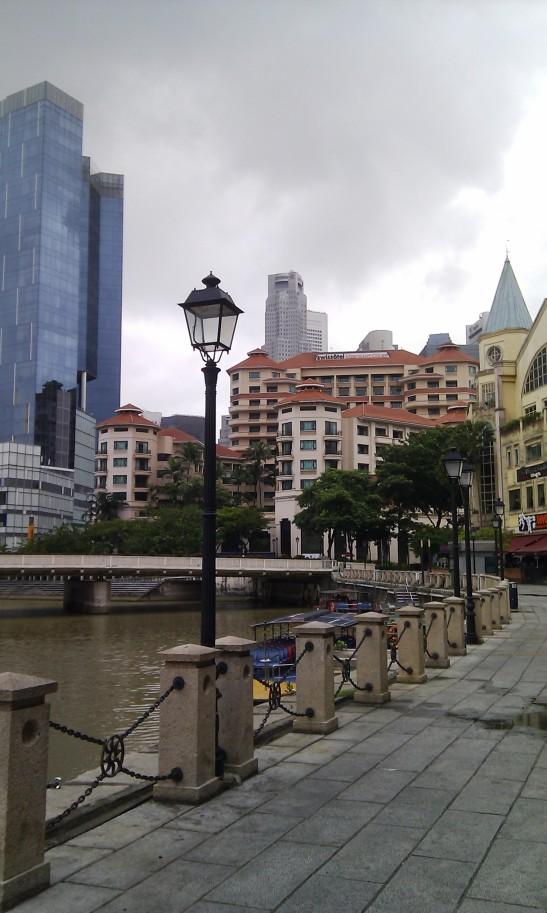 A serene Clarke Quay