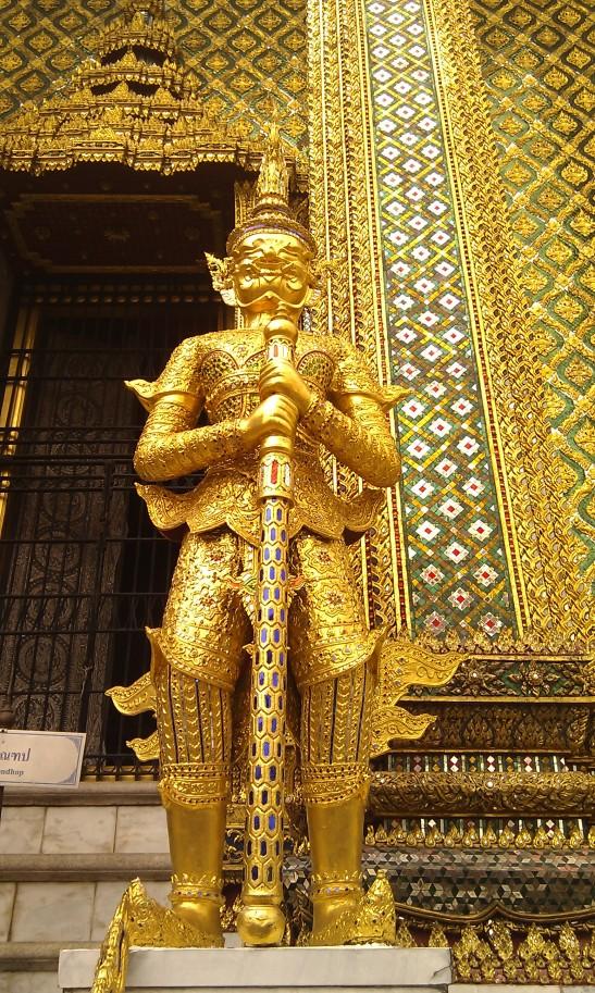 A golden statue in Thailand