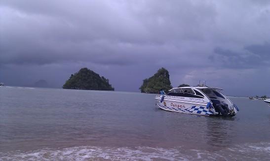 """Our """"Janpen"""" speedboat"""