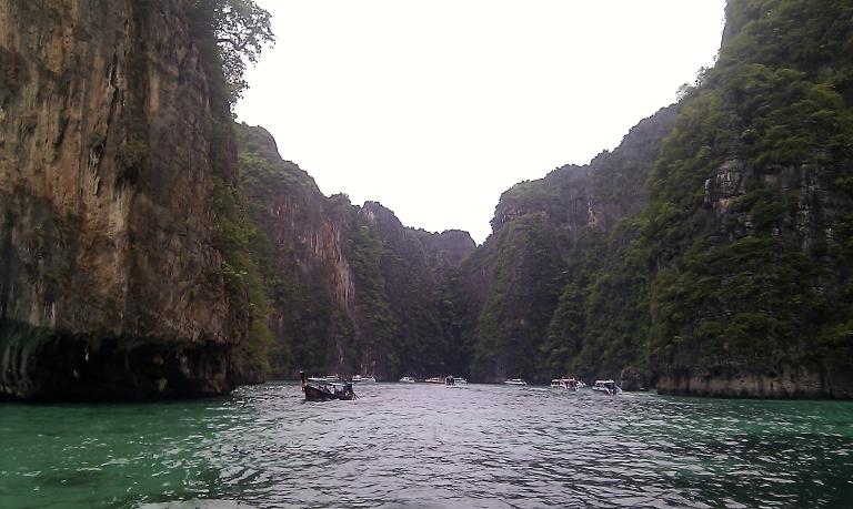 Entering Pi Leh Bay