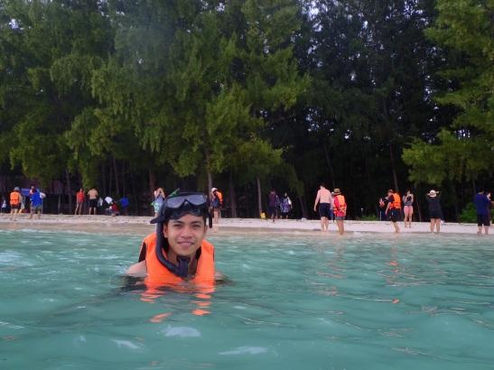 Snorkeling at Bamboo Island, Ko Phi Phi