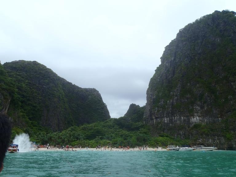 Approaching Maya Bay