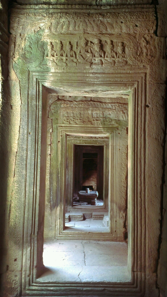 A passageway at Bayon Temple
