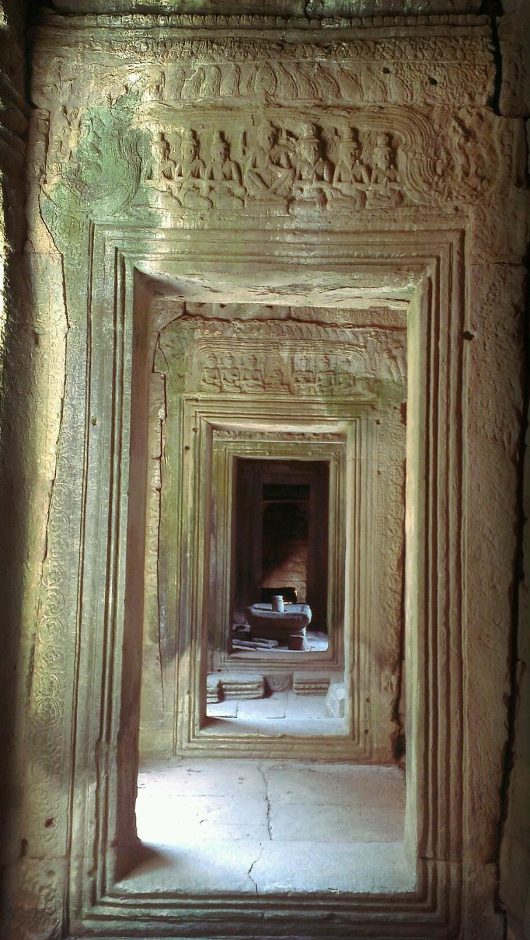 A passageway at Bayon Temple