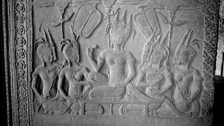 Hieroglyphs of Angkor Wat