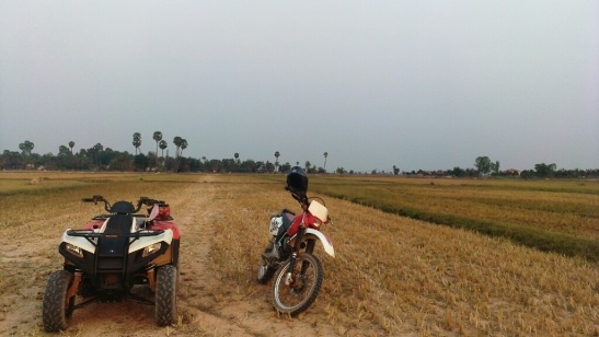 Quad-biking around Siem Reap's countryside