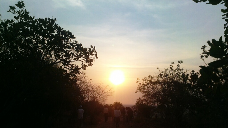 The highest point in Siem Reap to witness a sunset