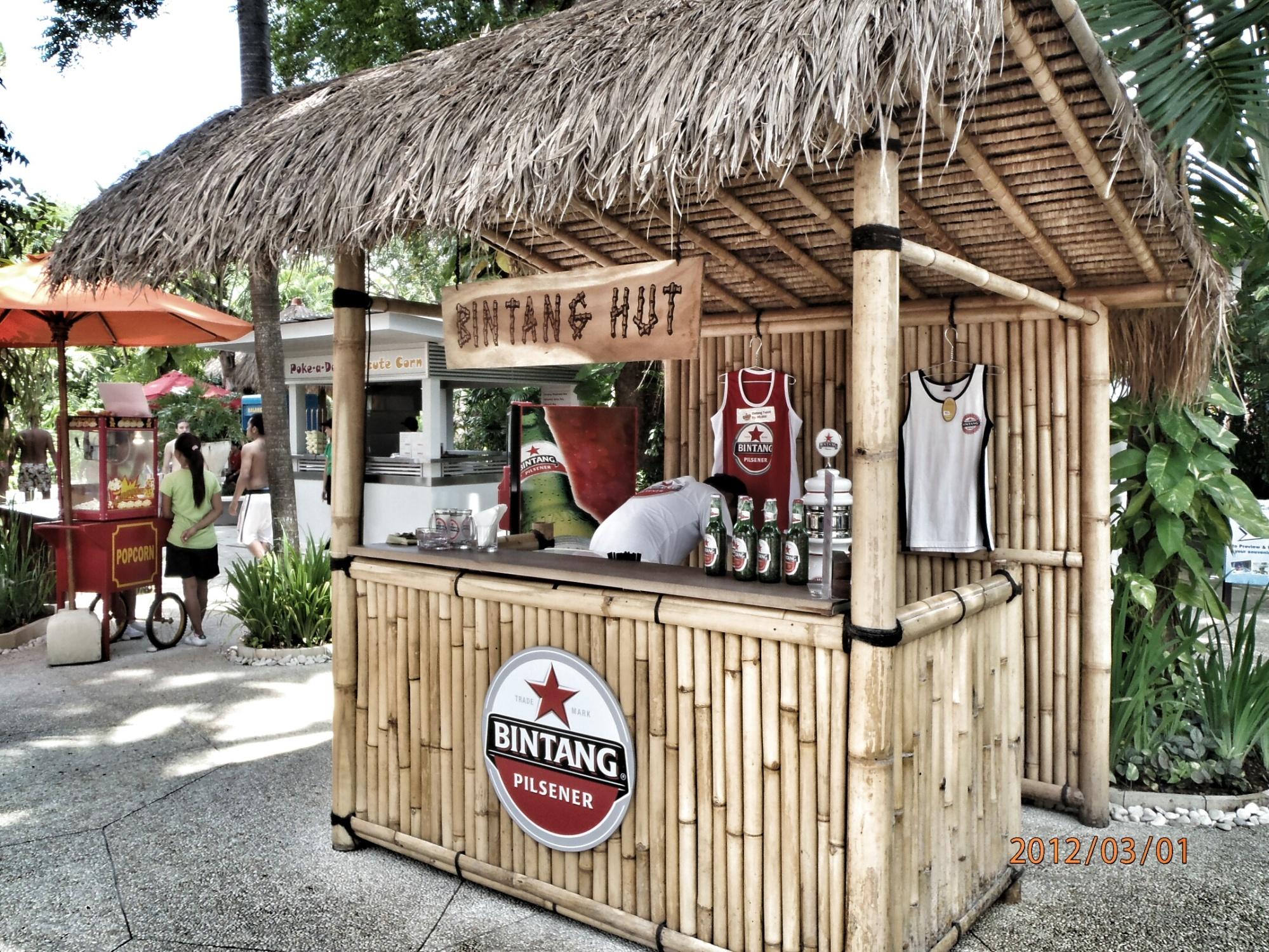 Bintang Hut in Bali