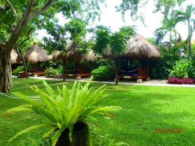 Traditional Balinese huts