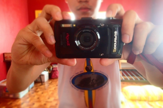 Self-shot with my Olympus TG-2