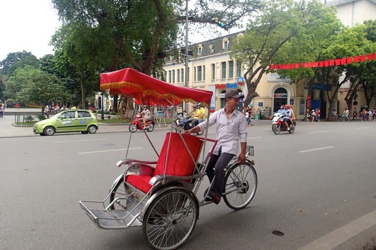 Cycle rickshaw aka cyclo of Vietnam