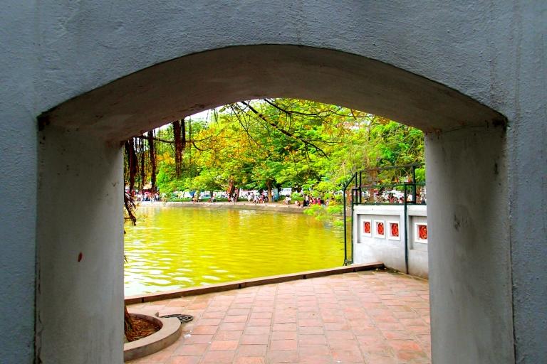 View of the Hoan Kiem Lake