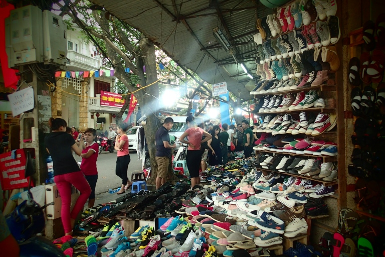 A street in Hanoi that only sells footwear