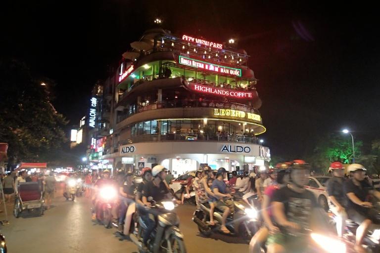 Crazy night in Hanoi