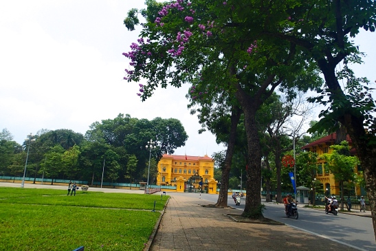 The Presidential Palace of Vietnam