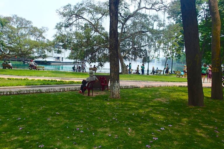 West Lake park in Hanoi