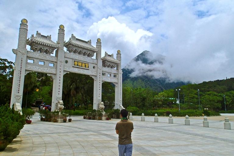 Entrance to the Po Lin  Monastery