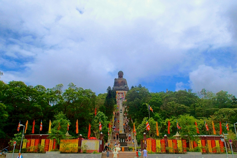 Big Buddha in Lantau Island, Hong Kong