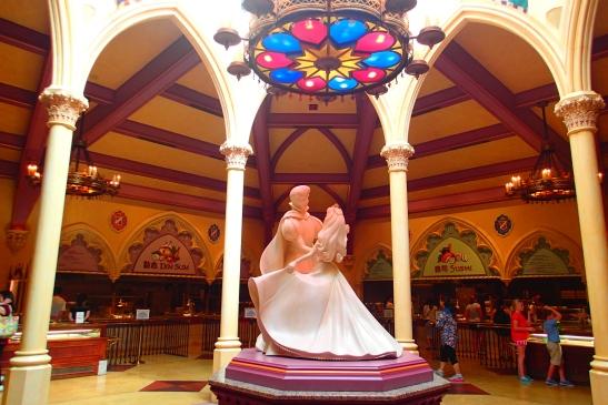 Hong Kong Disneyland banquet