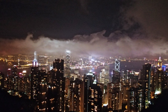 The view from the Victoria peak