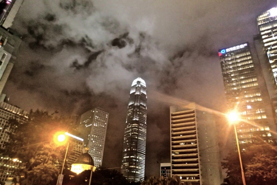 IFC Tower Plaza in Hong Kong