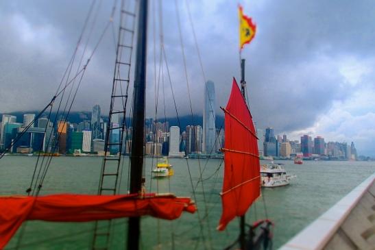 Duk Ling junk boat of Hong Kong