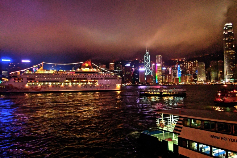 A very busy Victoria harbour
