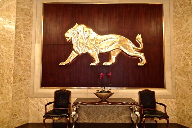 MGM Hotel lobby in Macau