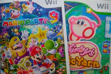 Wii - Mario Party 9 and Kirby's Epic Yarn