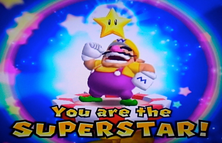 Wario the Superstar in Mario Party 9